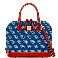 Dooney & Bourke NFL Tennessee Titans Zip Zip Satchel (Introduced by Dooney & Bourke at $248 in Aug 2016)