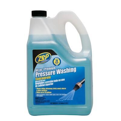 Zep ZUPPWC160 All-in-1 Premium Pressure Washing Cleaner, 160 Oz.