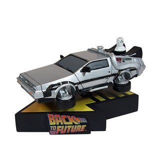 "Back to the Future 2 7"" DeLorean Time Machine Premium Motion Statue - multi"