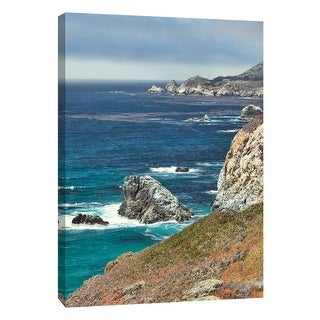 "PTM Images 9-106024  PTM Canvas Collection 10"" x 8"" - ""Big Sur 5"" Giclee Coastlines Art Print on Canvas"