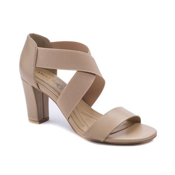 Andrew Geller Queena Women's Heels Natural