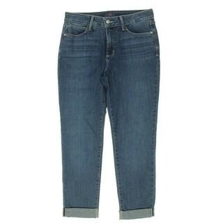 NYDJ Womens Petites Sylvia Boyfriend Jeans Relaxed Slimming - 6P