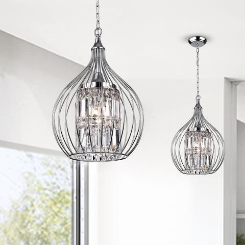 Acatia 3-light Chrome Foyer Pendant