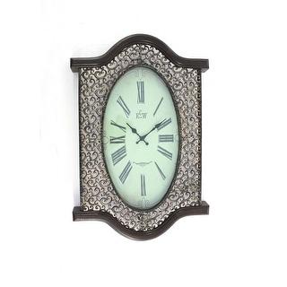 Vintage Bronze Wall Clock