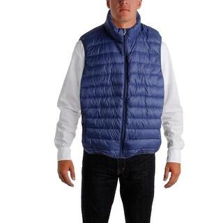 Hawke & Co. Mens Down Lightweight Packable Vest - XXL