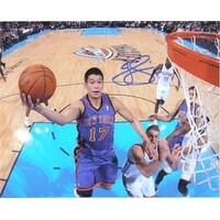 Signed Lin Jeremy New York Knicks 8x10 Photo autographed