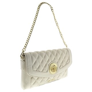 Moschino JC4003 0110 Ivory Quilted Shoulder Bag