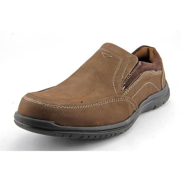 Florsheim Pacer Moc Slip Men Round Toe Leather Brown Loafer