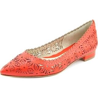 Carolinna Espinosa Royal Pointed Toe Leather Flats