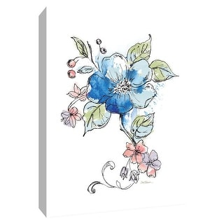 "PTM Images 9-148520  PTM Canvas Collection 10"" x 8"" - ""Fairest Blossom"" Giclee Flowers Art Print on Canvas"