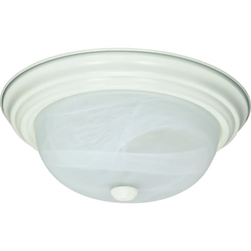 "Nuvo Lighting 60/2628 2 Light 11-3/8"" Wide Flush Mount Bowl Ceiling Fixture"
