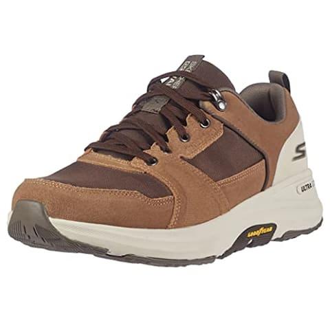 Skechers Men's Gowalk Outdoors Minsi-Water Repellent Anti-Slip Performance Walking Shoe, Brown/Tan