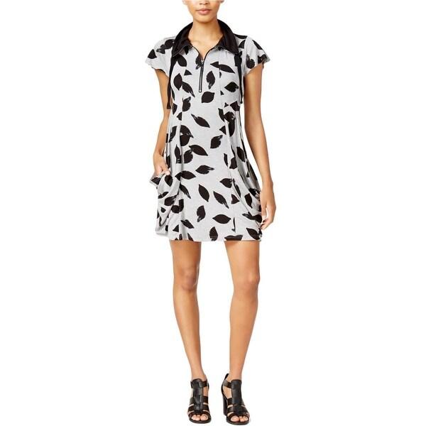 7ad7455ca4081 Kensie Womens T-Shirt Dress Deep Pocket Printed