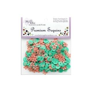 Buttons Galore LL Premium Sequins Blossom