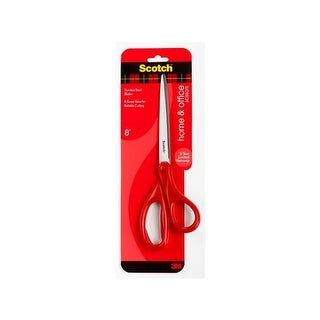 3m 1408 home and office scissors 8 inch
