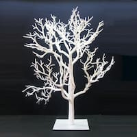 "32"" White Artificial Christmas Table-Top Twig Tree - Unlit"