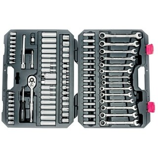 Crescent CTKGW85MP SAE/Metric Socket Wrench Set, 85 Piece