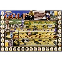 ''History of Golf'' by Vanguard Maps/Charts Art Print (23.75 x 36 in.)