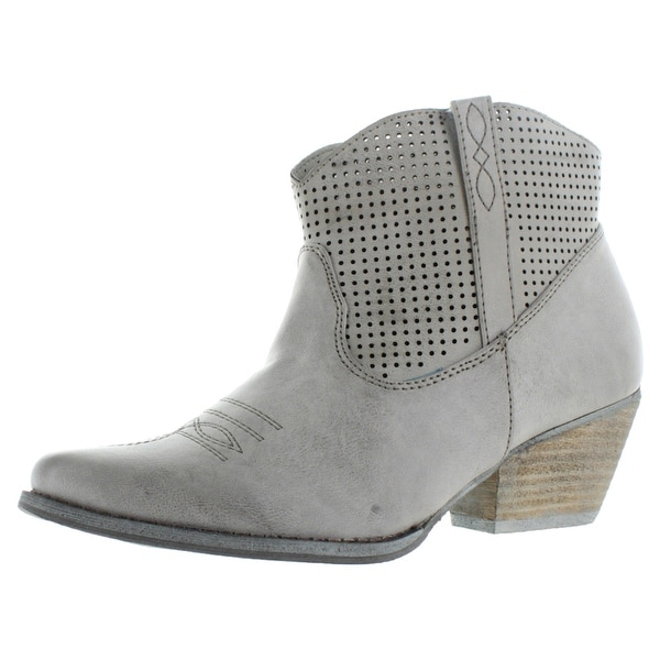 Very Volatile Mishka Women's Western Ankle Booties Boots