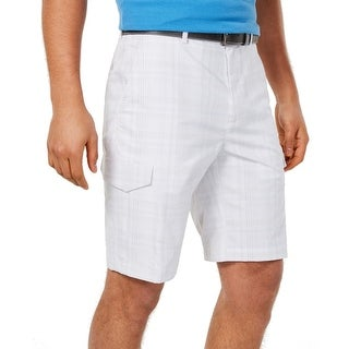 Link to Greg Norman Mens Shorts Gray Size 42 Performance Stretch Cargo RapiDry Similar Items in Big & Tall