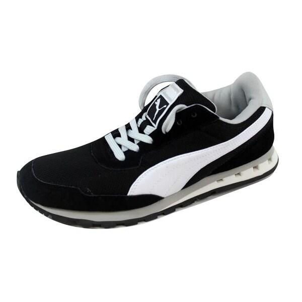 Puma Men's Kabo Runner Black/White-Gray Violet 352986 03