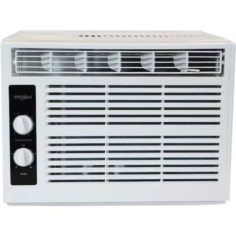 Whirlpool 5000 BTU Window AC with Mechanical Controls R32 - White
