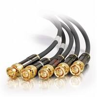 CABLESTOGO  6ft SonicWave® RGBHV - 5-BNC Component Video Cable