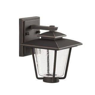 "Park Harbor PHEL1300LED Ivy Cottage 9"" Tall Single Light LED Outdoor Wall Sconce"