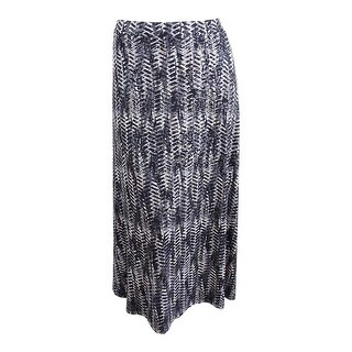Kasper Women's Plus Size Knit Skirt - clay multi