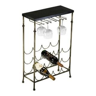 Cyan Design 4266 Urban Wine Table - antique flemish and black