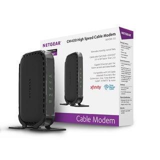 Netgear Cm400 Cm400-100Nas Docsis 3.0 High Speed Cable Modem