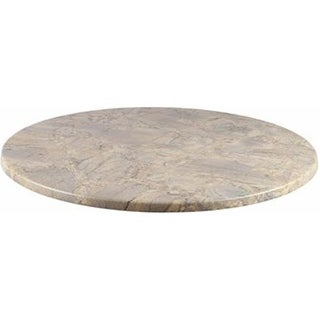 42 in. Duratop Round Table Top, Marble