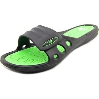 Shoe Shack Shower Slippers Open Toe Synthetic Slides Sandal
