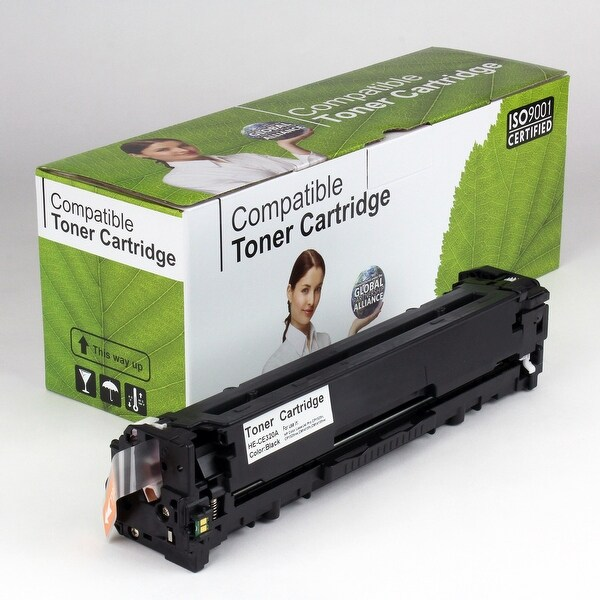Value Brand replacement for HP 128A Black Toner CE320A (2,000 Yield)