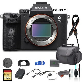 Link to Sony Alpha a7 III Mirrorless Digital Camera (Body Only) Bundle - With Similar Items in Digital Cameras