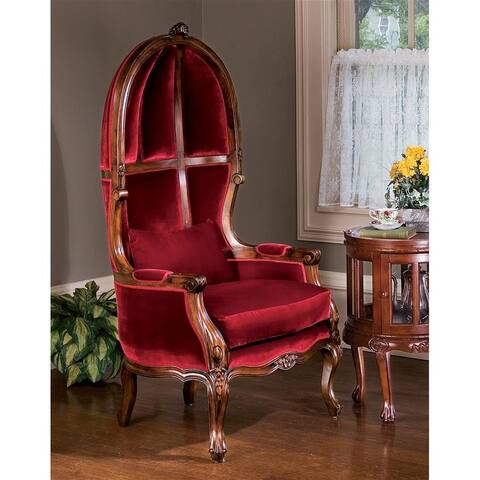 Design Toscano Victorian Balloon Chair - 30 x 25 x 59