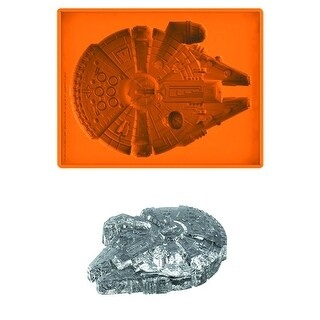 Star Wars Millennium Falcon Deluxe Large Silicone Ice Tray - Multi