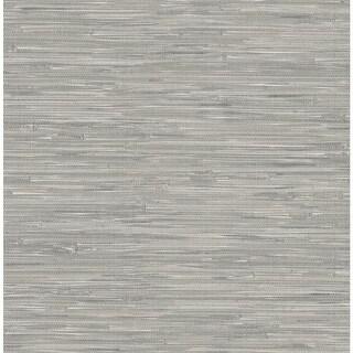 Brewster NU2083 30-3/4 Square Foot - Tibetan Grasscloth - Prepasted Vinyl Wallpaper - N/A