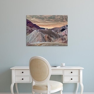 Easy Art Prints Colby Chester's 'Zabriskie Pt.' Premium Canvas Art
