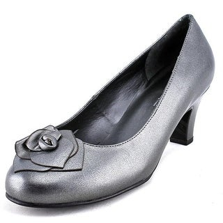 Rose Petals by Walking Cradles Cherish W Round Toe Leather Heels