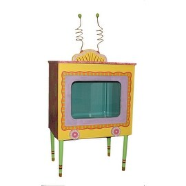 Encore Hand Painted TV Themed 6 Gallon Aquarium