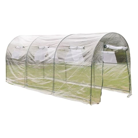 vidaXL Outdoor Greenhouse Garden Vegetable Flower Plant Hot Grow House Shade