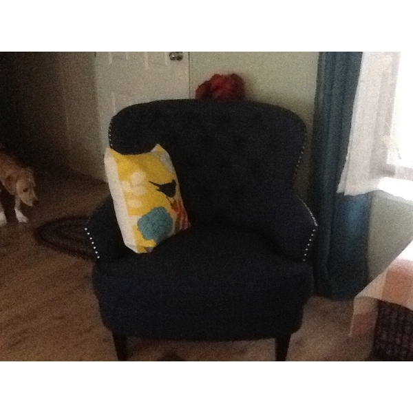 Wonderful Tafton Tufted Oversized Fabric Club Chair By Christopher Knight Home   Free  Shipping Today   Overstock.com   13850122