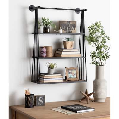 Carbon Loft Revell Wall-mounted Hanging Shelf - 23x30