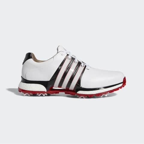 New Adidas Tour 360 XT White/Black/Scarlet Golf Shoes BB7922 (MED)