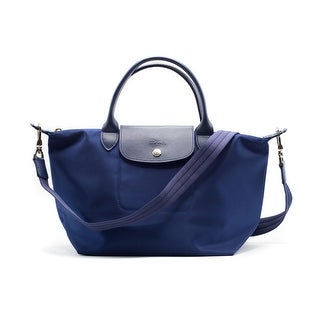 Longchamp Women's Navy Le Pliage Néo Top Handle Small Tote Bag