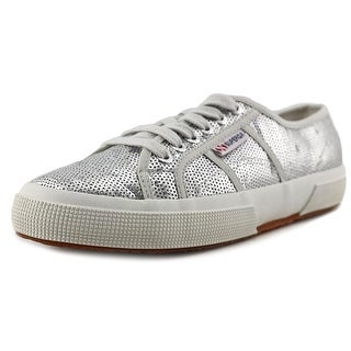 Superga 2750 Cotu Classic Men Synthetic Silver Fashion Sneakers