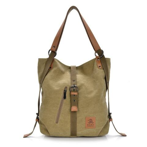 High-End Female Bag Fashion Casual Canvas Bag
