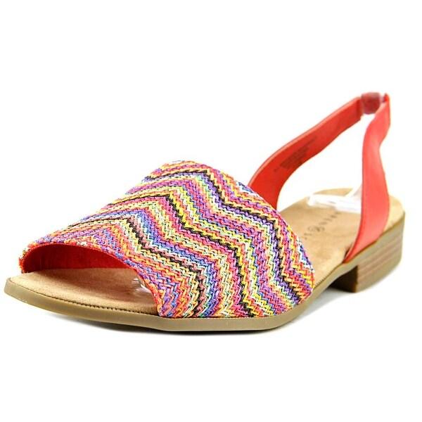 Karen Scott Jonnah   Open-Toe Synthetic  Slingback Sandal