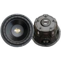 "LANZAR MAXP84 MaxPro Series Small 4ohm Subwoofer (8"", 800 Watts)"